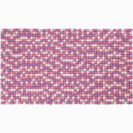 myfelt Rosa Table Runner pink, 40 x 70 cm (also available in 40 x 140 cm)