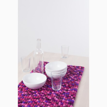 myfelt purple Table Runner, 40 x 70 cm