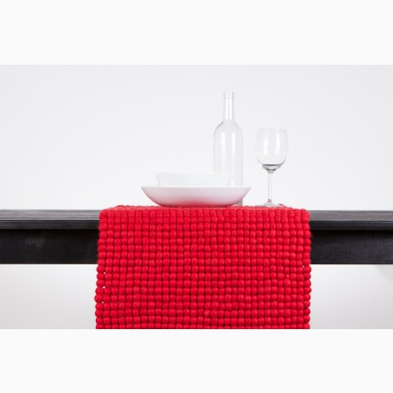 myfelt red Table Runner, 40 x 70 cm (also available in 40 x 140 cm)