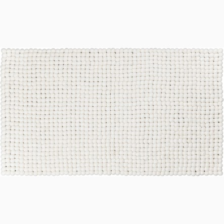myfelt Linéa Table Runner white, 40 x 70 cm (also available in 40 x 140 cm)