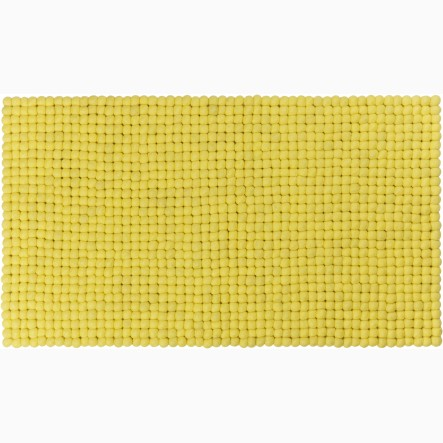 myfelt Malina Table Runner yellow, 40 x 70 cm (also available in 40 x 140 cm)