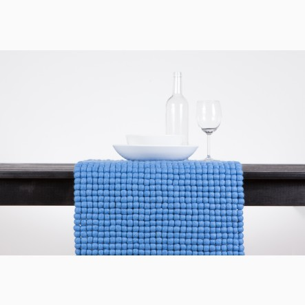myfelt blue Table Runner, 40 x 70 cm
