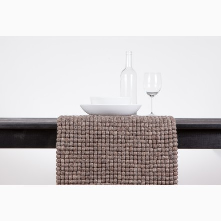 myfelt Table Runner brown, 40 x 70 cm