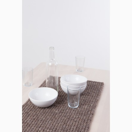 myfelt brown Table Runner, 40 x 70 cm