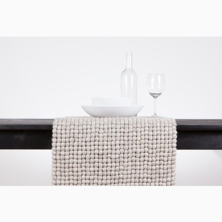 myfelt Table Runner beige, 40 x 70 cm