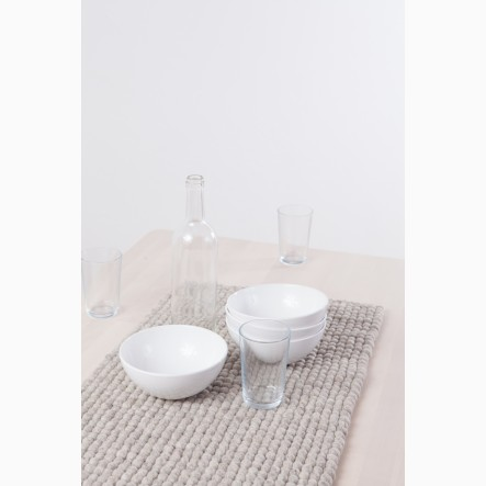 myfelt beige Table Runner, 40 x 70 cm
