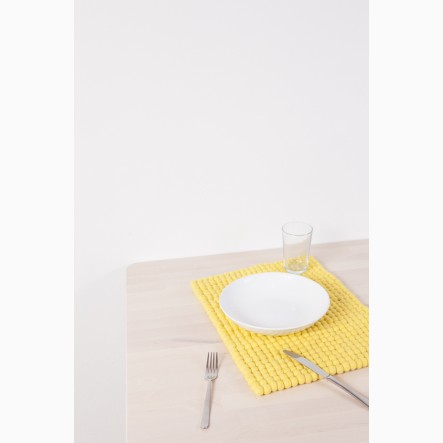 myfelt Malina Place Mat yellow, rectangular, 35 x 45 cm