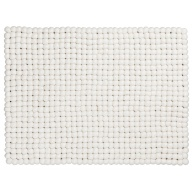 myfelt Linéa Place Mat / Table Mat white, rectangular, 35 x 45 cm